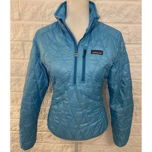 Patagonia Quilted Down 1/2 Zip Jacket Sweater